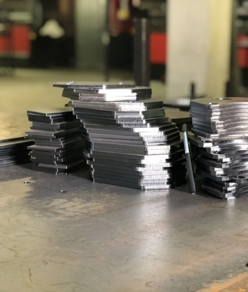 Образец лазерной резки листового металла
