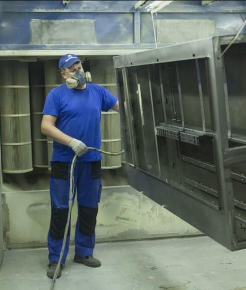 Сектор порошковой покраски металла