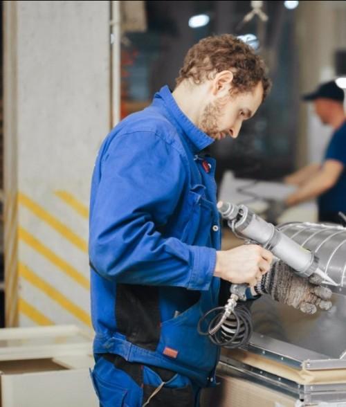 Сборка на заводе Пром-Металл