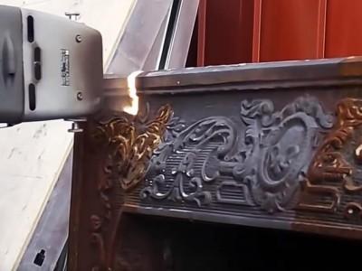 Подготовка металлоизделий к покраске